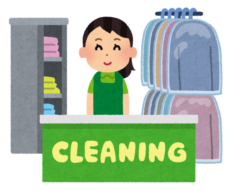 Cleaning shop